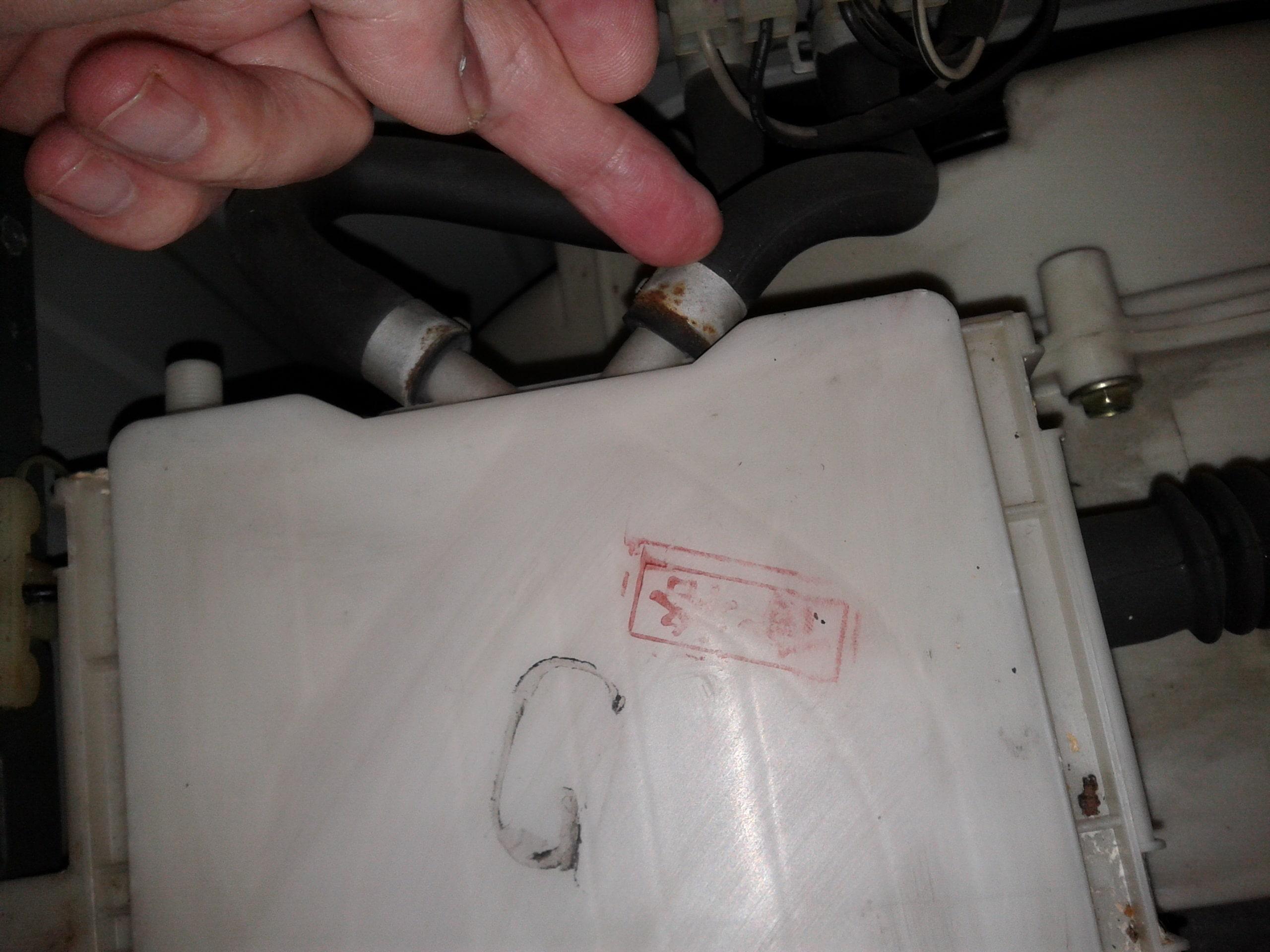 Слив стиральной машины LG