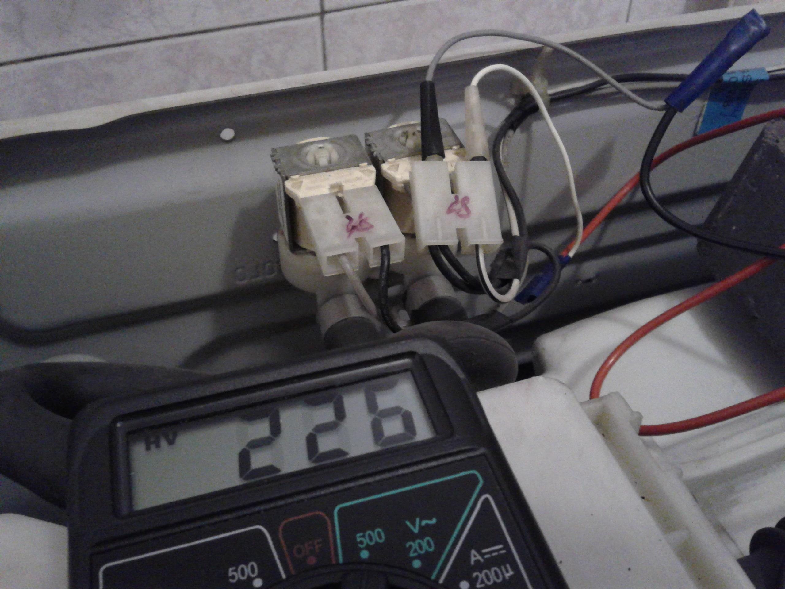 проверка мультиметром стиральную машину LG