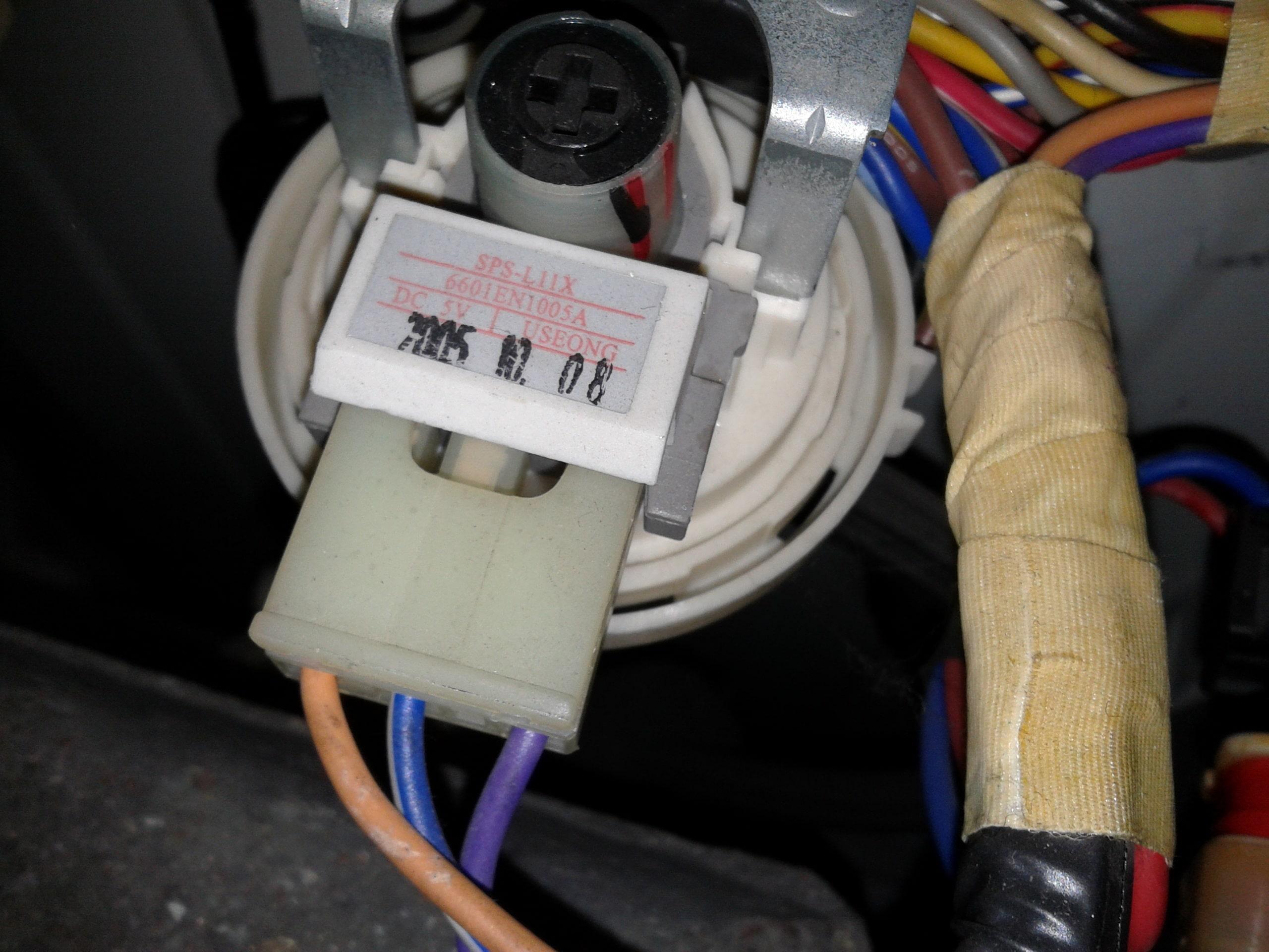 Модули управления стиральной машины LG