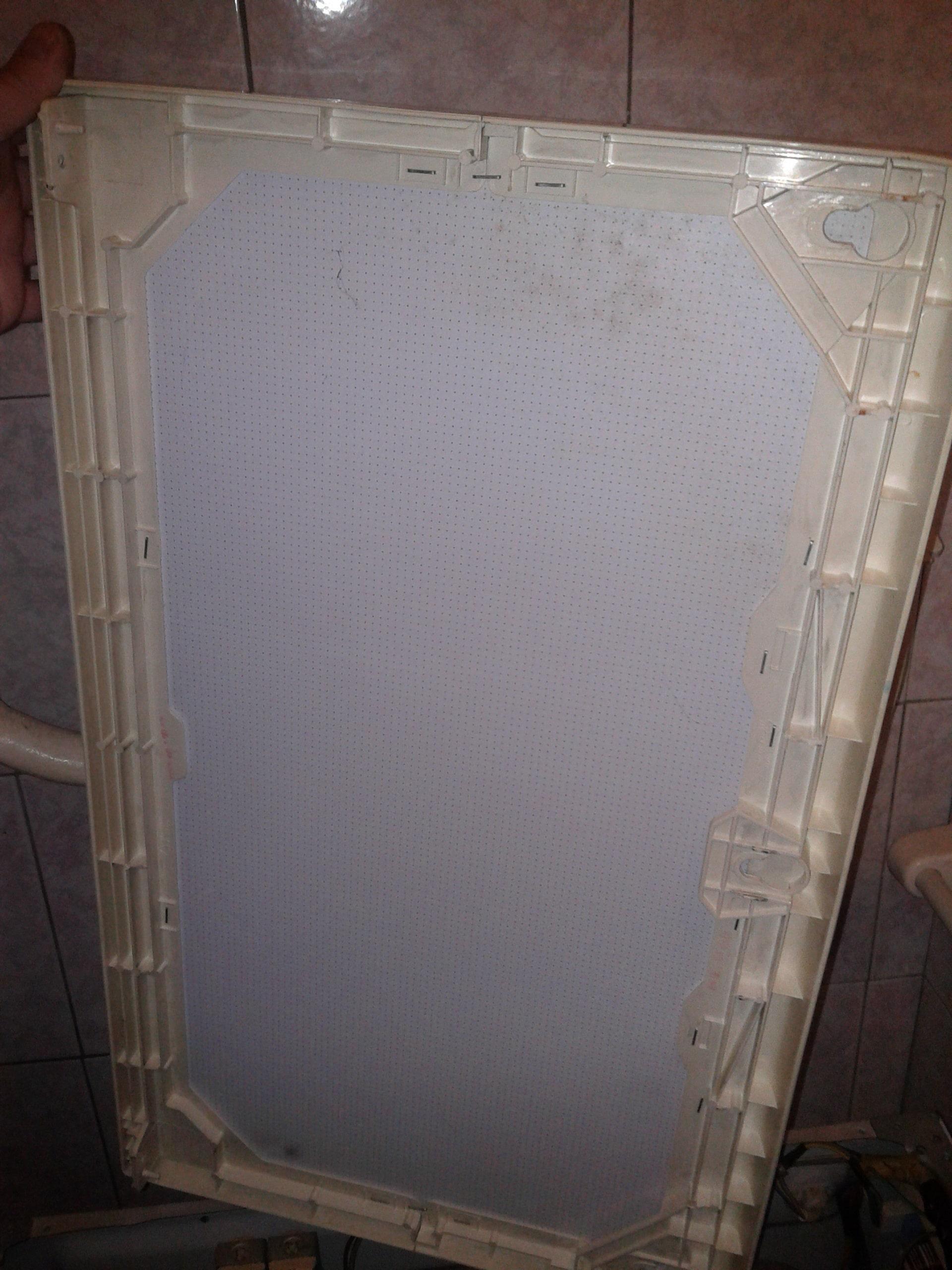Крышка от стиральной машины LG